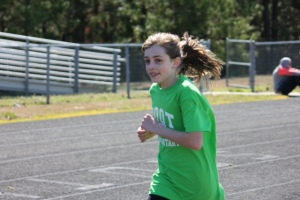 She is so talented... she has wont the mile run in First in Fitness Wake County for three years straight.