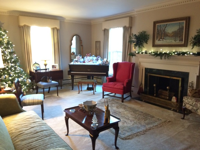 The Parlor (yes, I am southern... I call the formal living room the parlor)