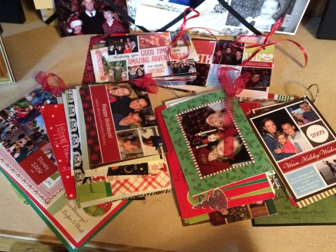 Christmas Cards from the past...
