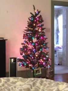 Yes, I even set up a fake little tree in my bedroom and am enjoying looking at it while sitting in bed writing this morning!